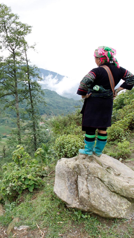 Etnische Minderheden in Vietnam Sapa H'mong