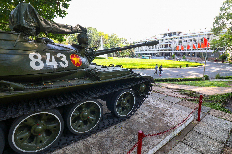 Bezienswaardigheden Vietnamoorlog Reunification Palace